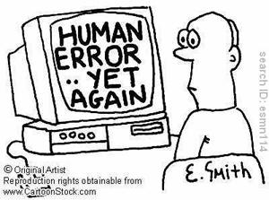 human error pettman dominic